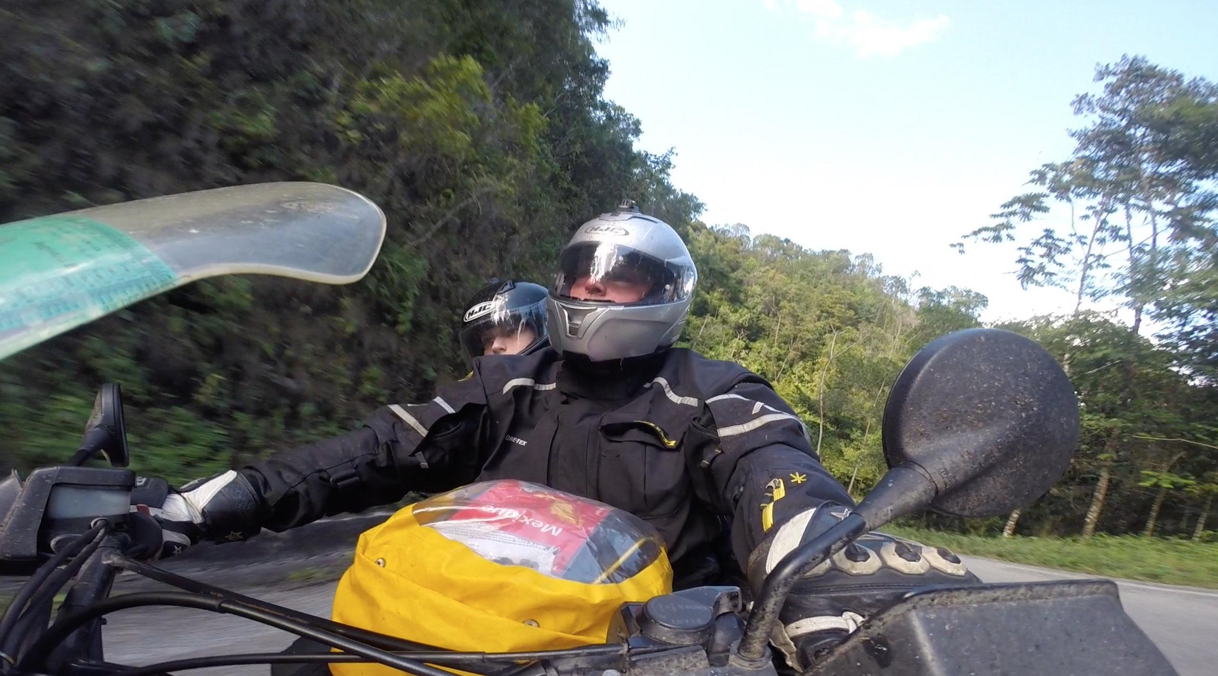 Into Guatemala