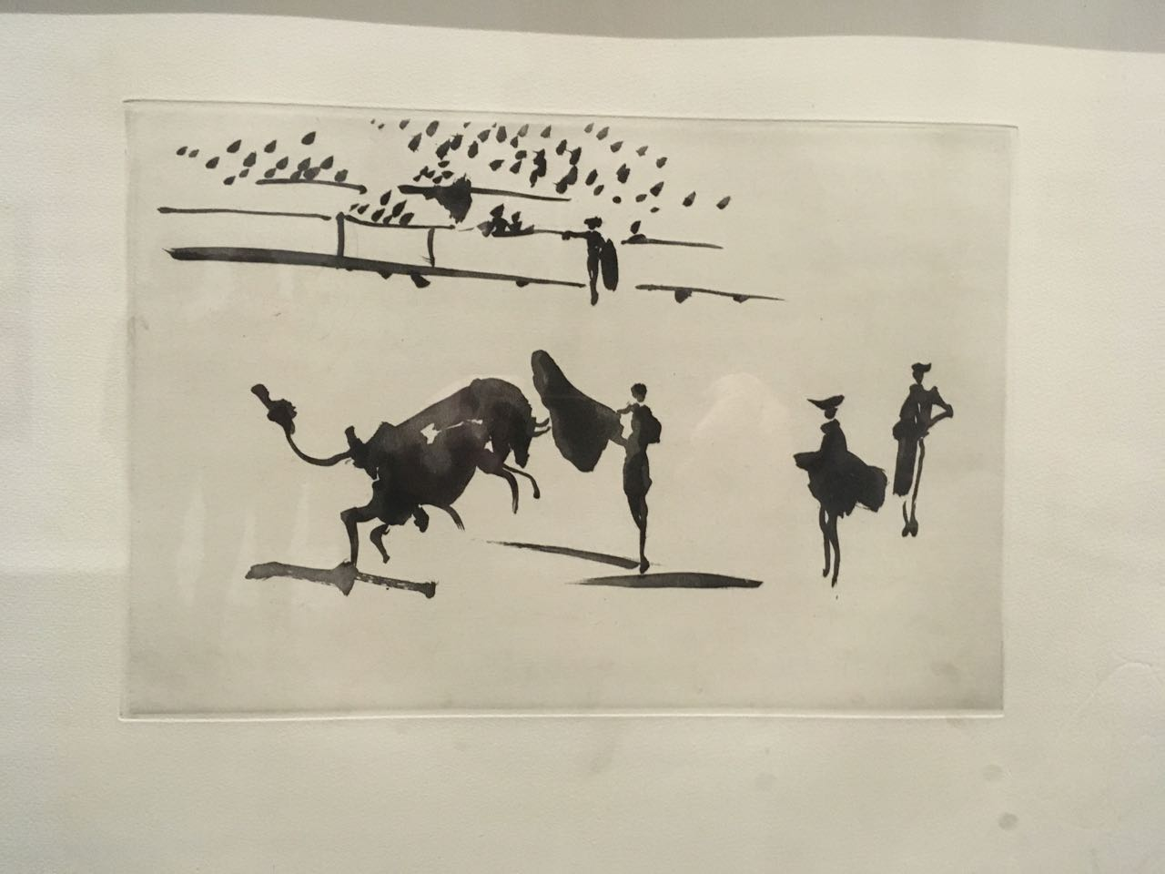 'La tauromaquia o Arte de torear' - The art of bullfighting. 26     aquatints by Picasso