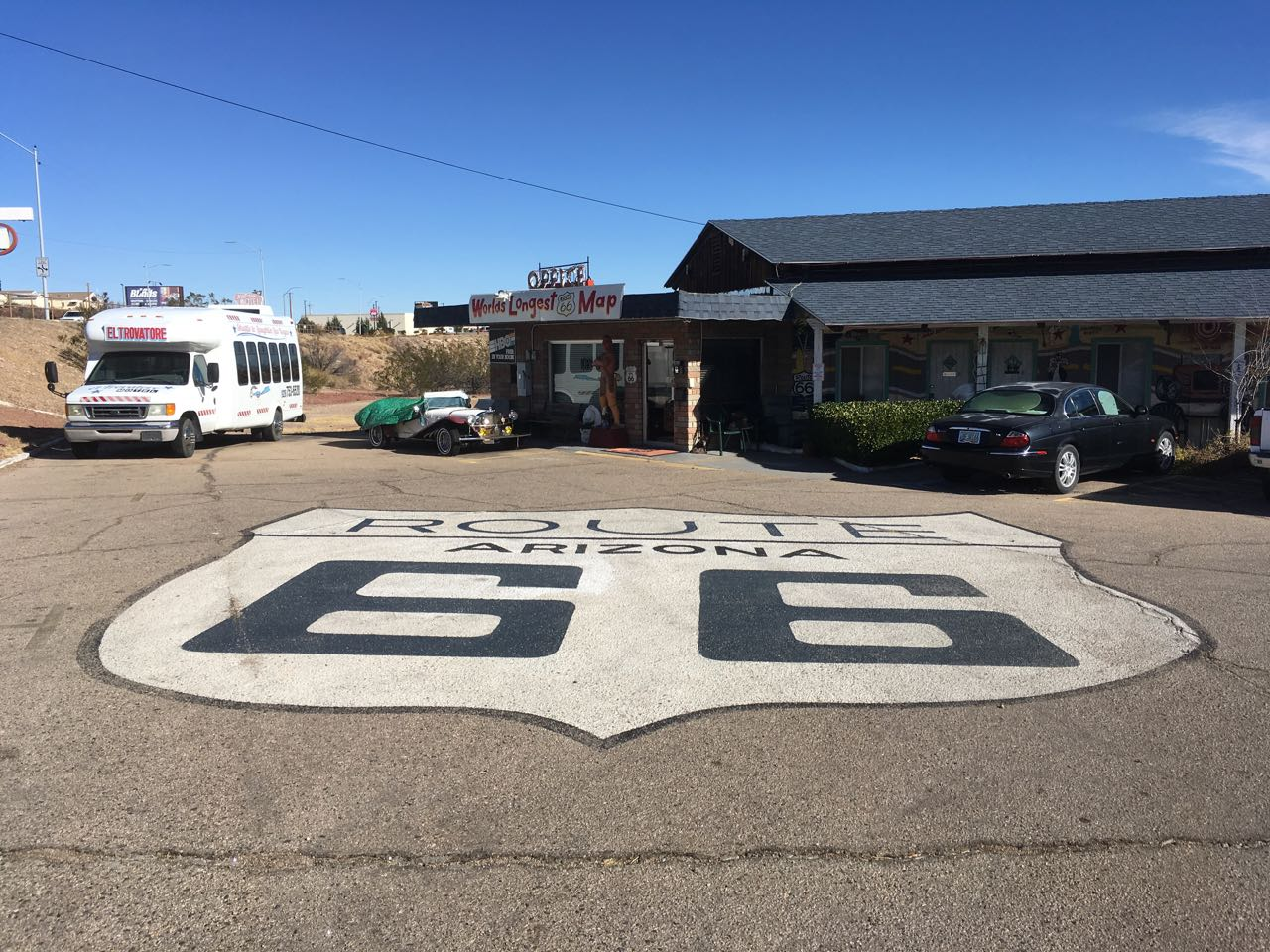 Route 66 in Kingman