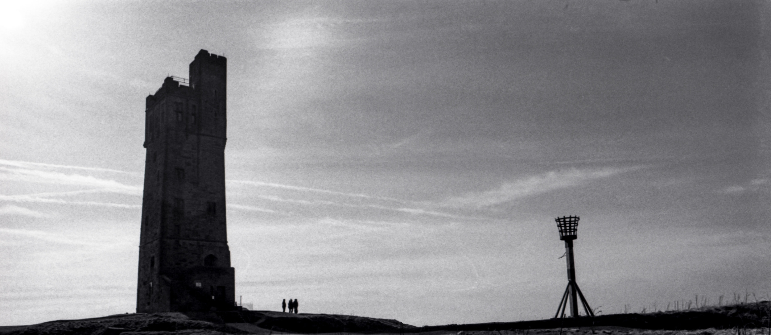 Castle Hill Huddersfield shot with Ilford HP5+ film