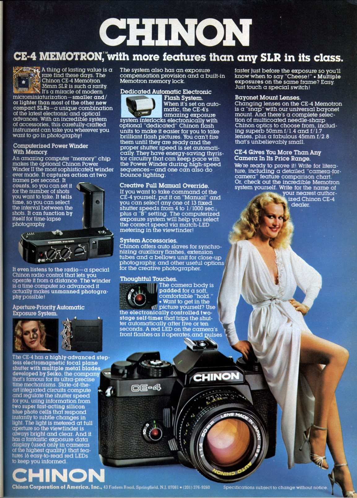 Ah.... they really don't make adverts like that anymore do they..... i wonder what happened to that massive camera.....