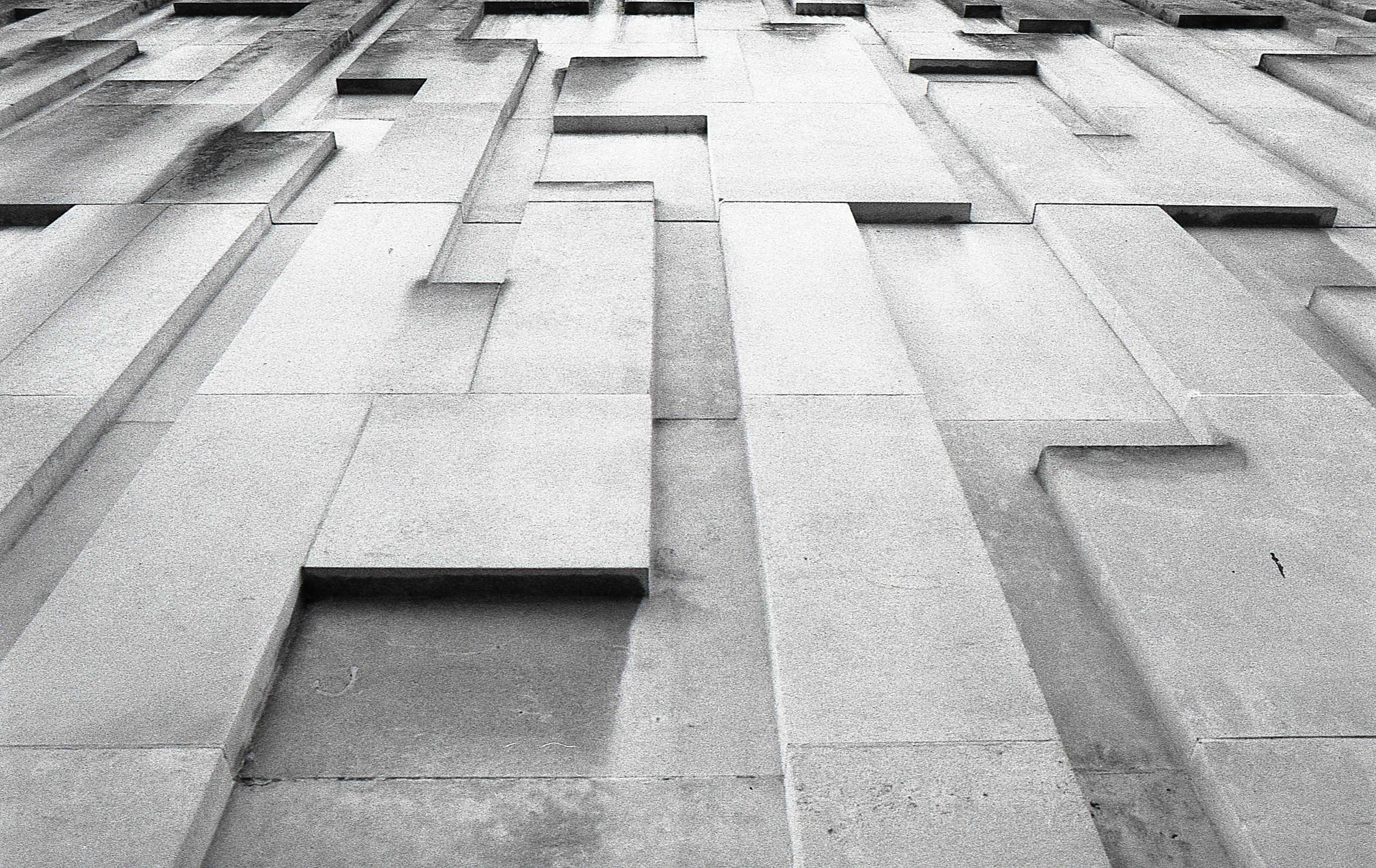 Bradford City Centre does a good line in modernist concrete