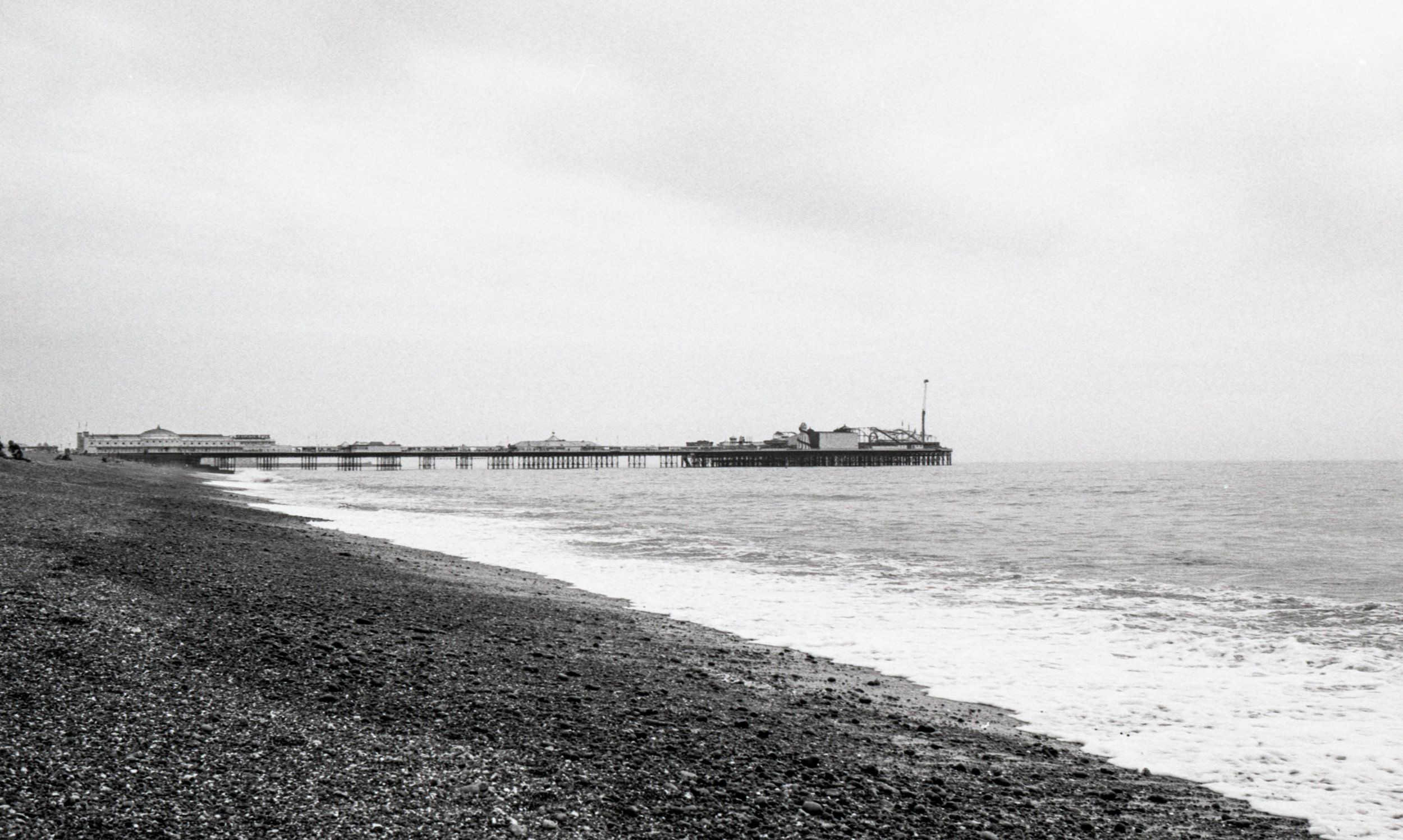 obligatory shot of the remaining Pier - I still prefer the burned out one as a subject