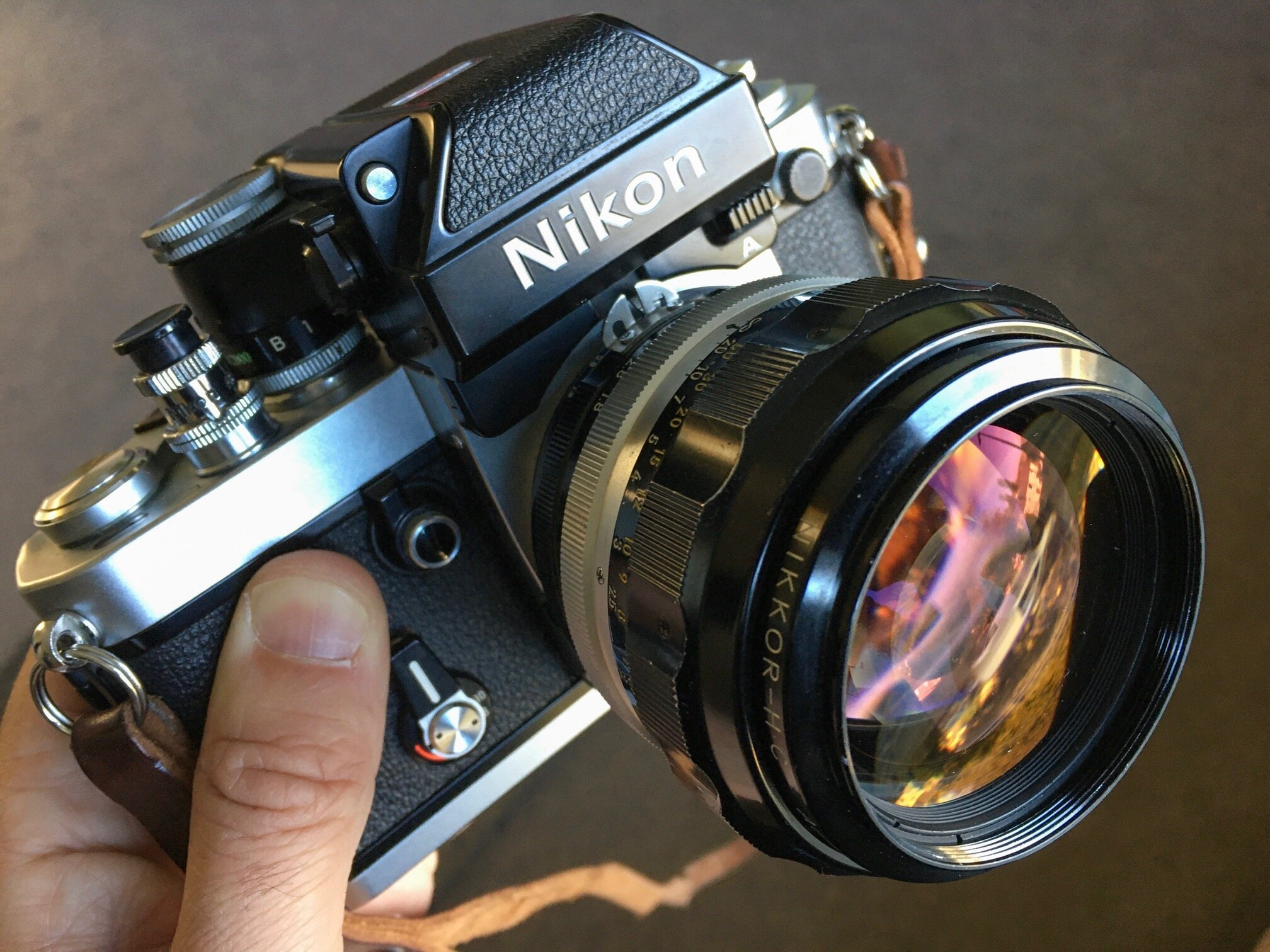 The Nikon F2 and the amazing Nikkor H C 85mm 1.8