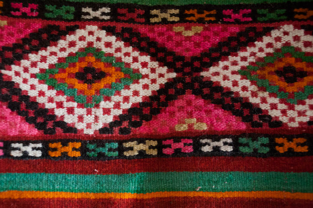 Moroccan Kilim Carpets from The Souk by M.Montague.