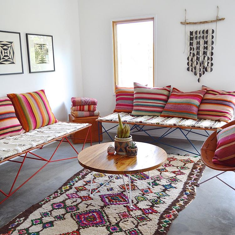 Photo by Garza Marfa of M.Montague Souk rugs