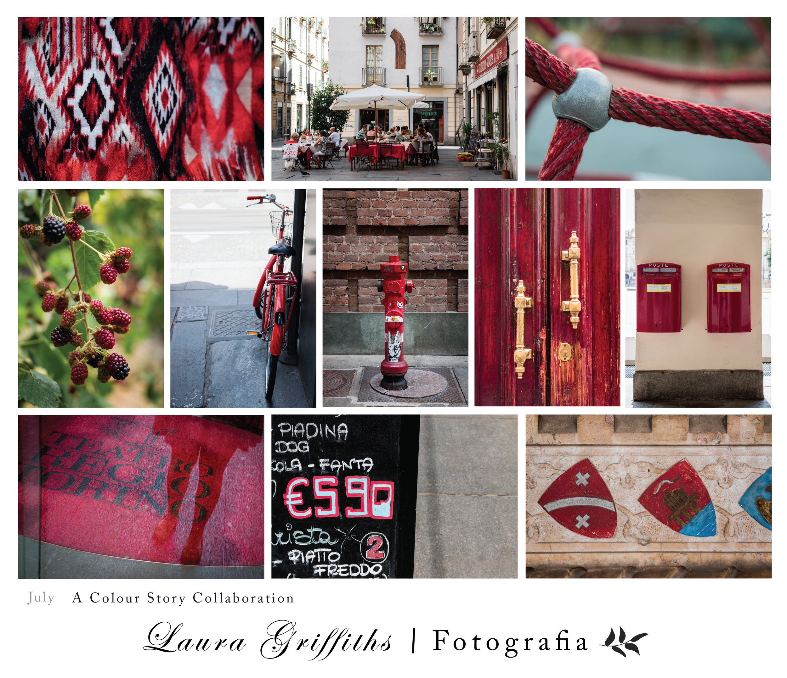 A color story collaboration Laura Griffiths Fotografia Torino Italia