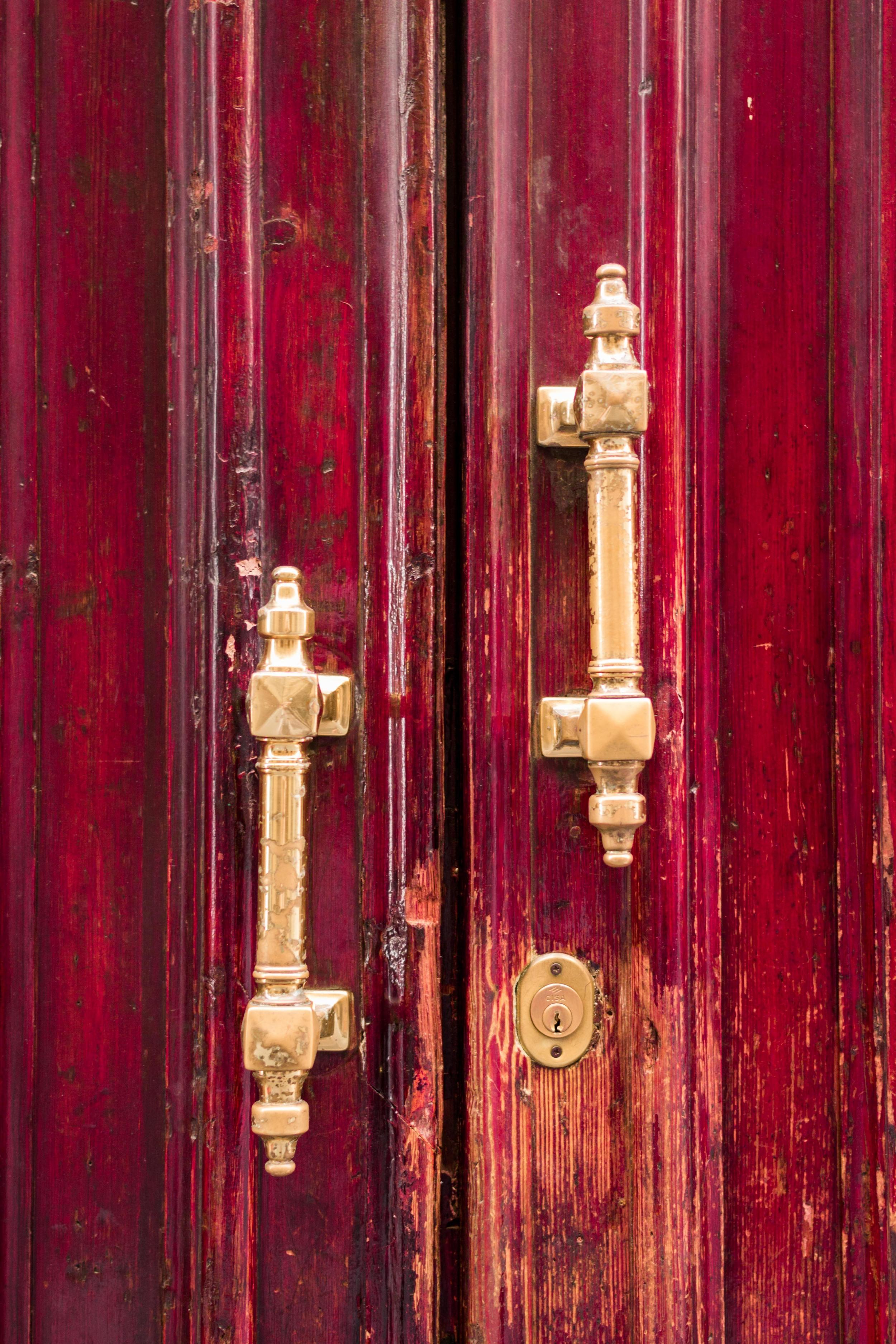 red door torino Italia fotografia porta