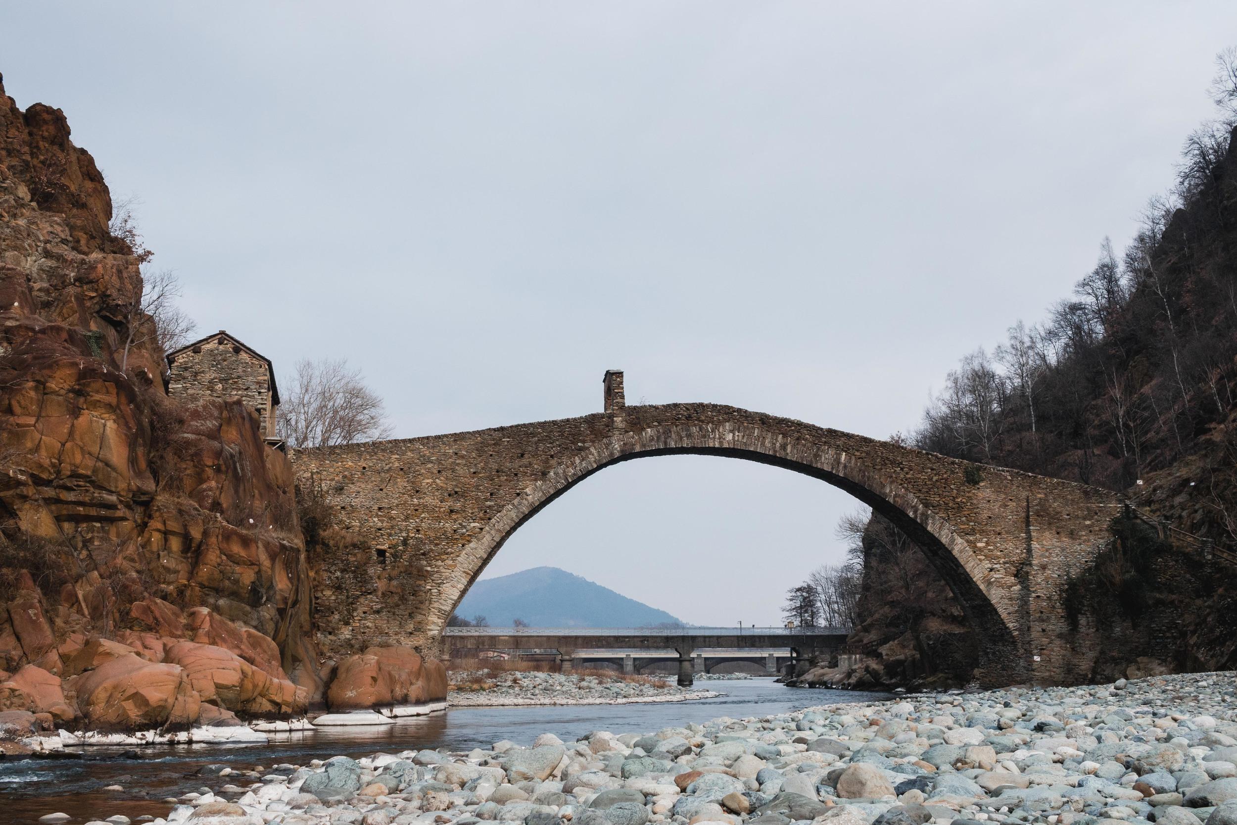 Ponte del diavolo Torino italia Turin italy devils bridge