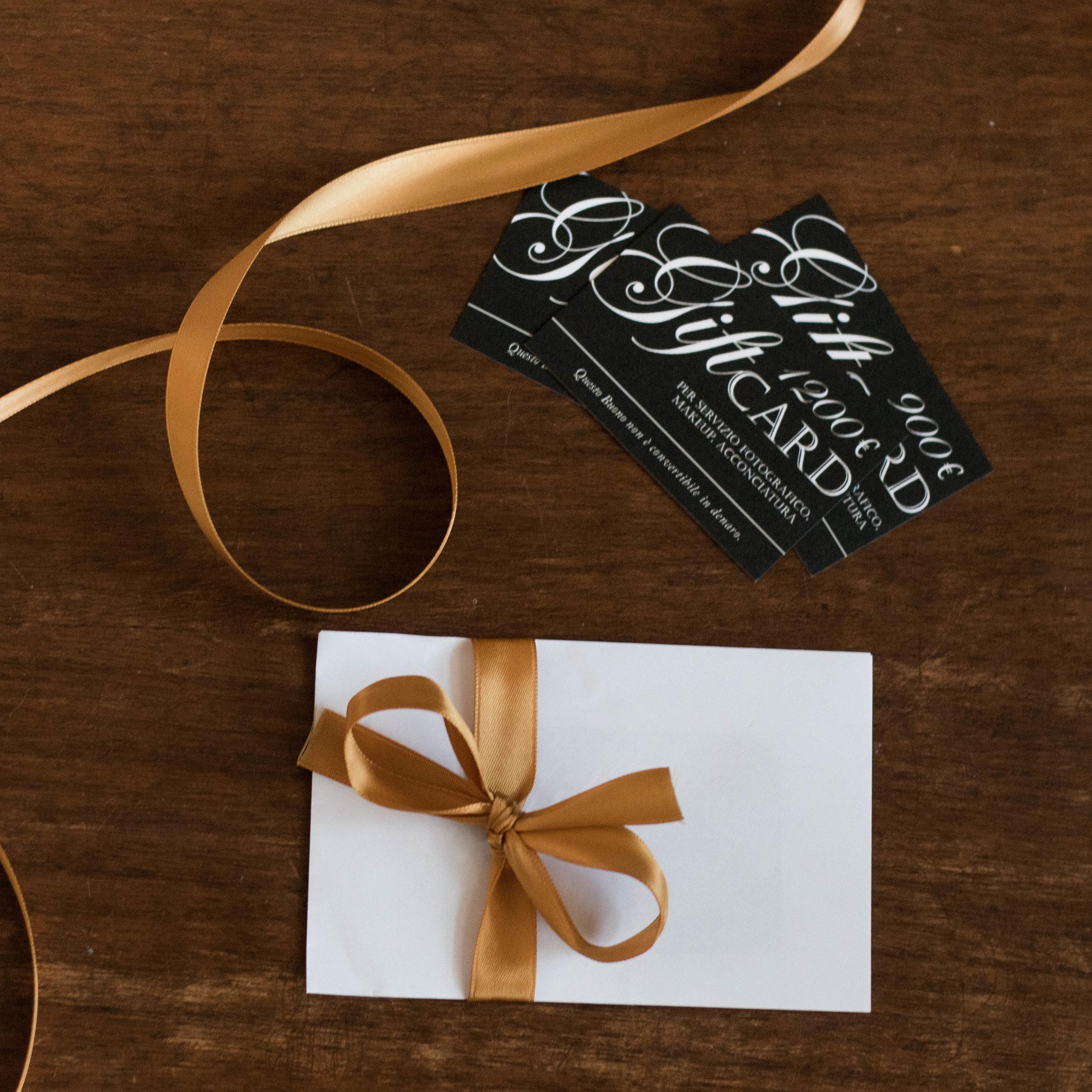 gift card servizio fotografico