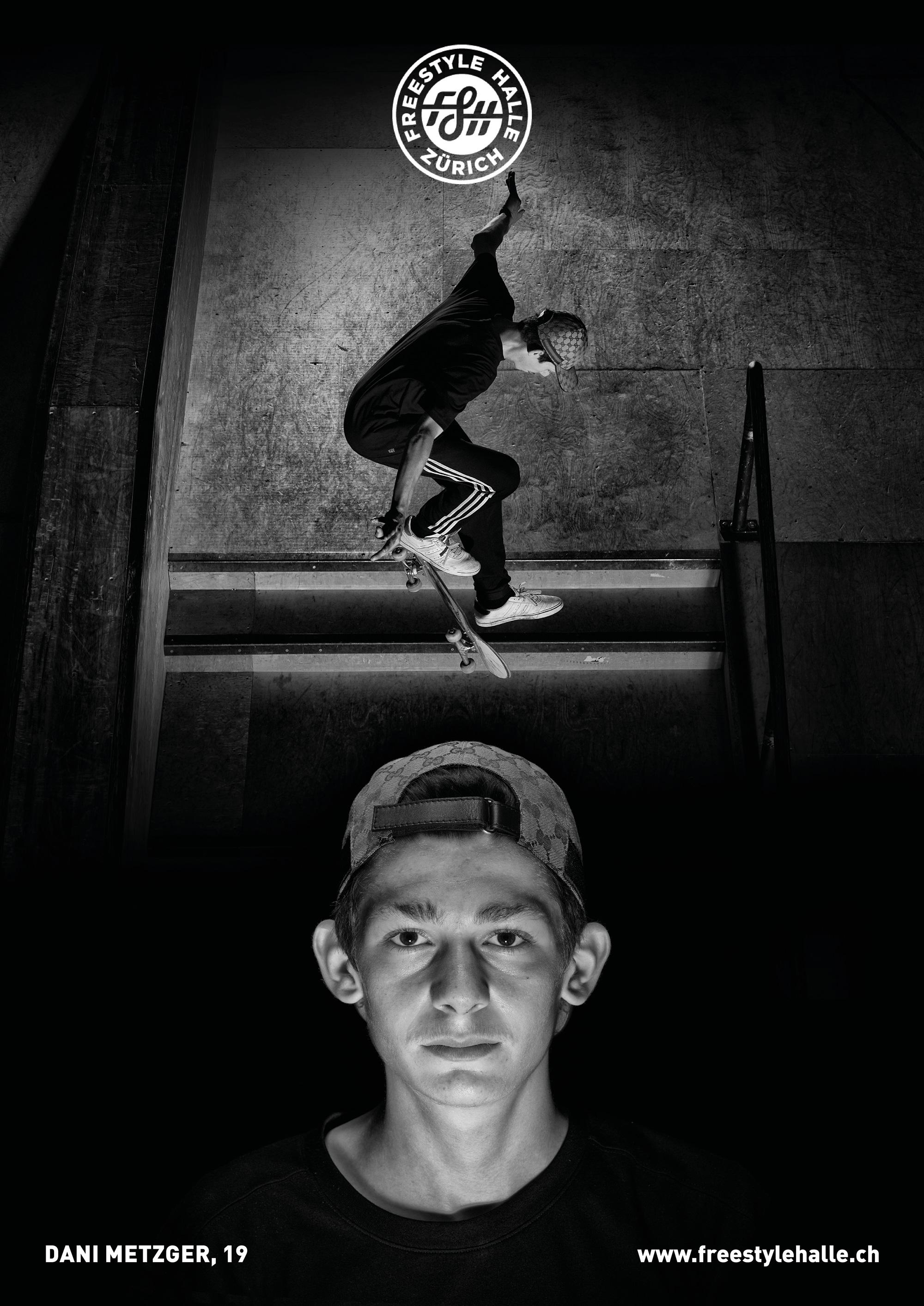 """LOCAL""  fotoseries by 📸@peterrauch  featuring the creatures of the freestylehalle biotope- today:  name  Dani G-Baws Metzger  how old are you? wie alt bist du?  19  at what age did you start skating? in welchem alter bist du das erste mal geskatet?  about 12, mit etwa 12  where are you from? woher kommst du?  k10, Iran  what do you get out of skating? was gibt dir skaten?  joy, homies and a few broken bones/ freude, homies und ein paar knochenbrüche  vil netti lüt und neui kollege  are you member of a skate crew? bist du in einer crew?  team henny  favorit trick? lieblings trick?  fs 360 shuv it    #freestylehalle #fshzh #local #zurich #skateboarding #biodiverisityofskateboarding"