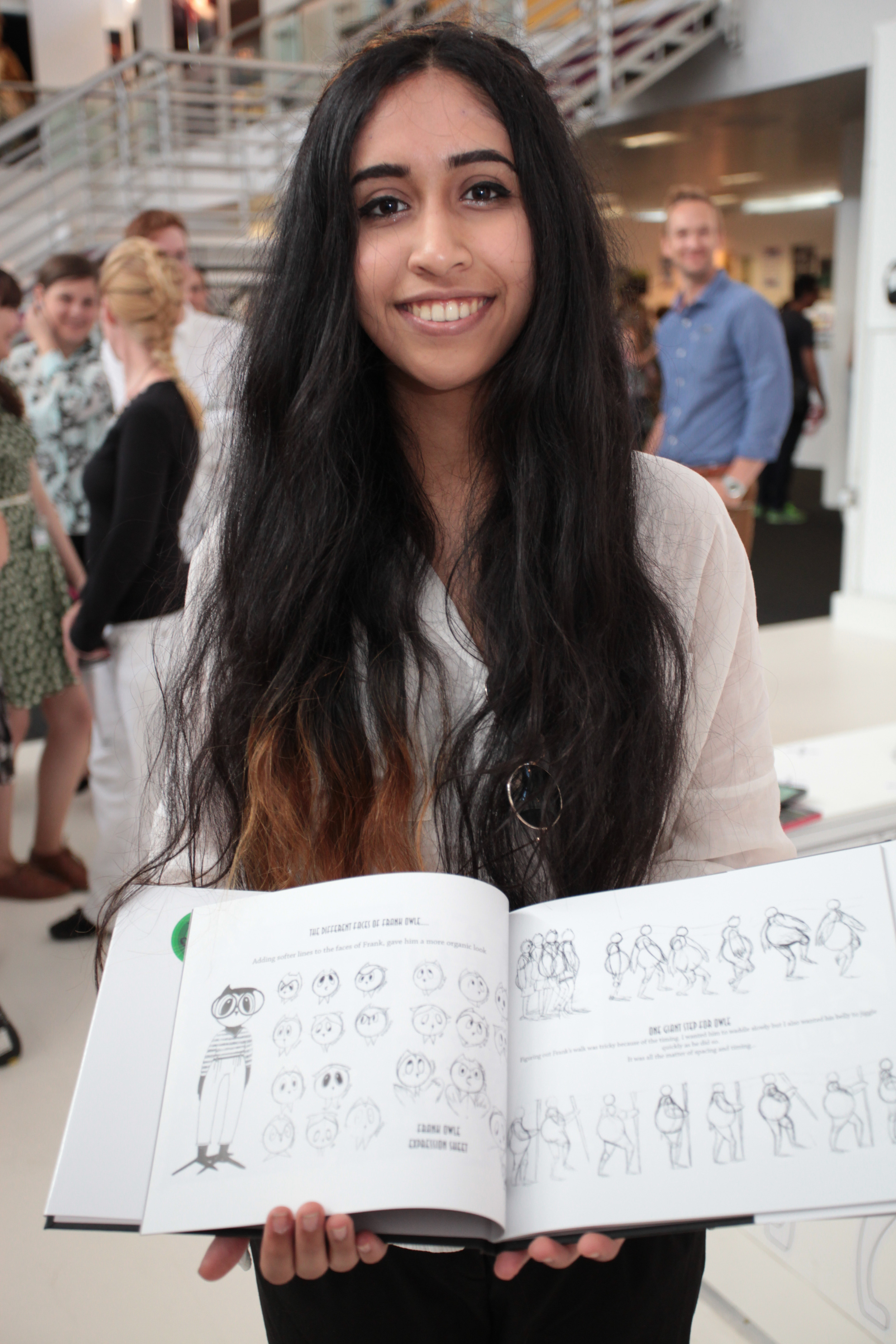 Urvashi Lele, winner of the  New Designers 2014  Judges' Choice for  An Interview With The Owl & The Pussy Cat