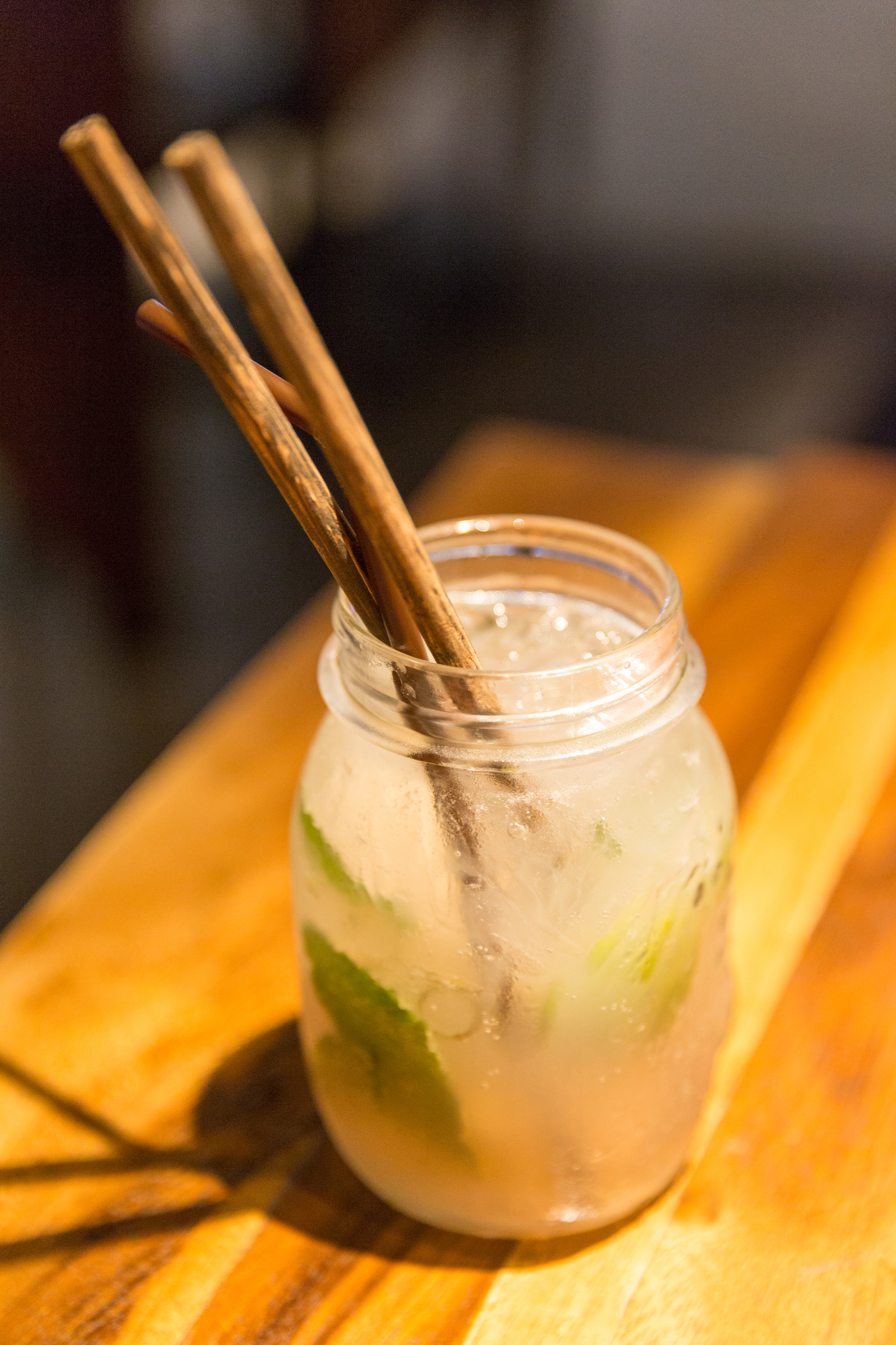 The wonderful lychee mocktail