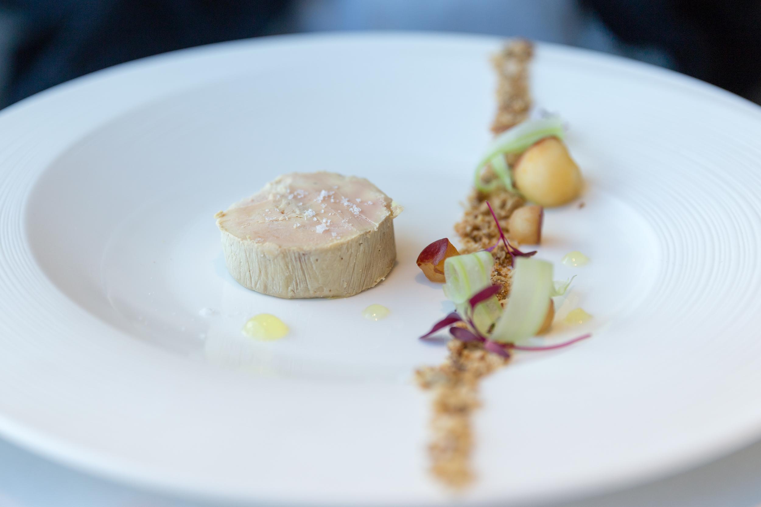 Duck and Foie Gras - Cherry, sour dough toast