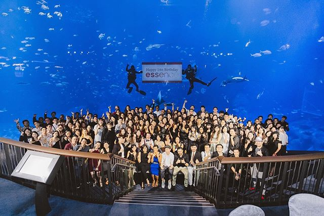 Got a little hectic in organising it but it was all worth it in the end. We celebrated @essence_global 's 14th birthday in Singapore in STYLE!! . . . . #essencenoir #essencenoir19 #essentiallove #seaaquarium #seaaquariumsingapore #sentosa #singapore #igsg #sgig #instasg #discoversg #yoursingapore #potd #fishes #fishy @rwsentosa  #isthisenoughhashtags