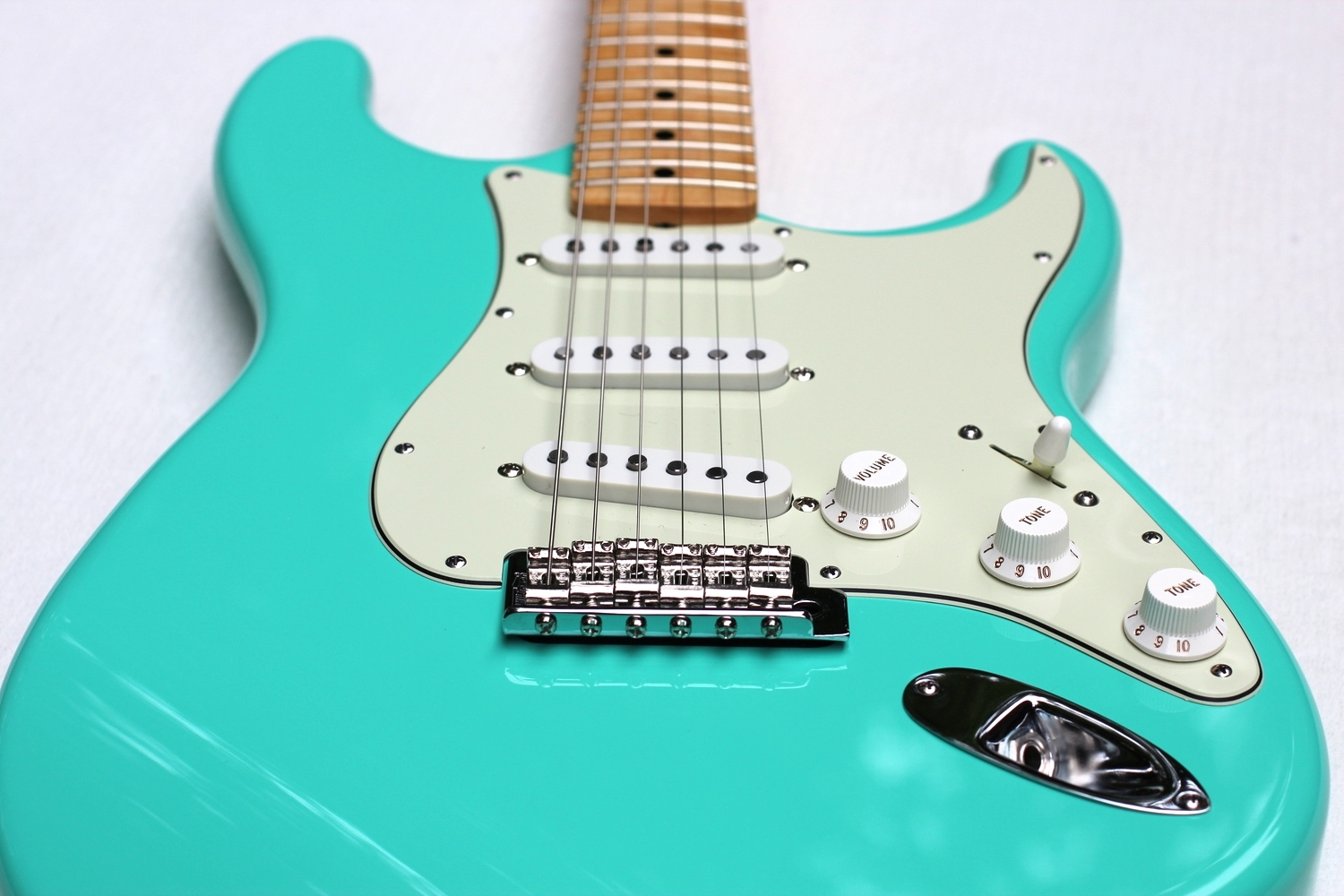 Seafoam Green S-Type - Tone for Days!