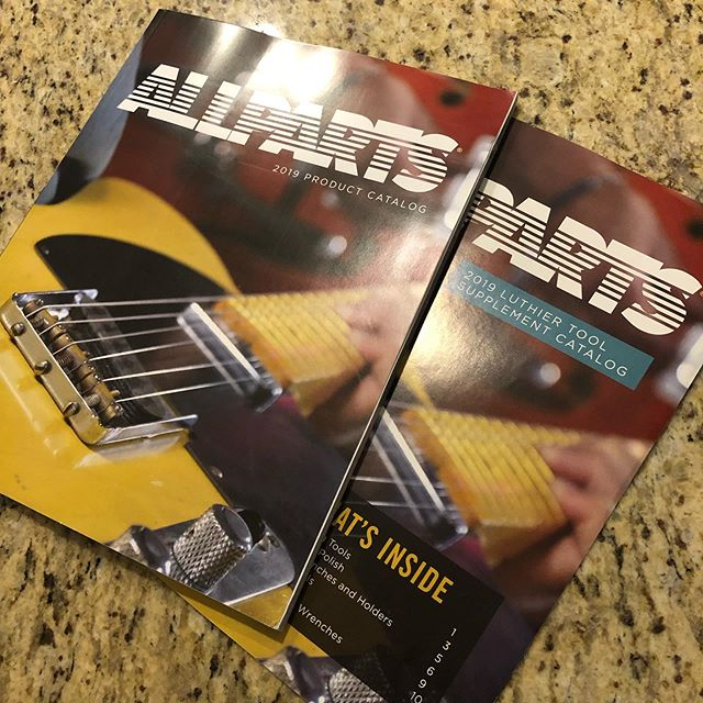 When I was a kid, I spent hours flipping through the Sears Christmas Wish Book imagining all the possibilities. Now, I do the same thing whenever a new Allparts catalog comes in the mail.  #allparts #sears #guitar #guitars #guitarist #music #electricguitar #customguitar #guitarbuilding #fender #fenderguitar #tele #telecaster #strat #stratocaster #jazzmaster #gibson #lespaul #guitarcollection #luthier #woodworking #diy #handmade #vintage #blues #rock #jazz #metal #lanxtonguitars
