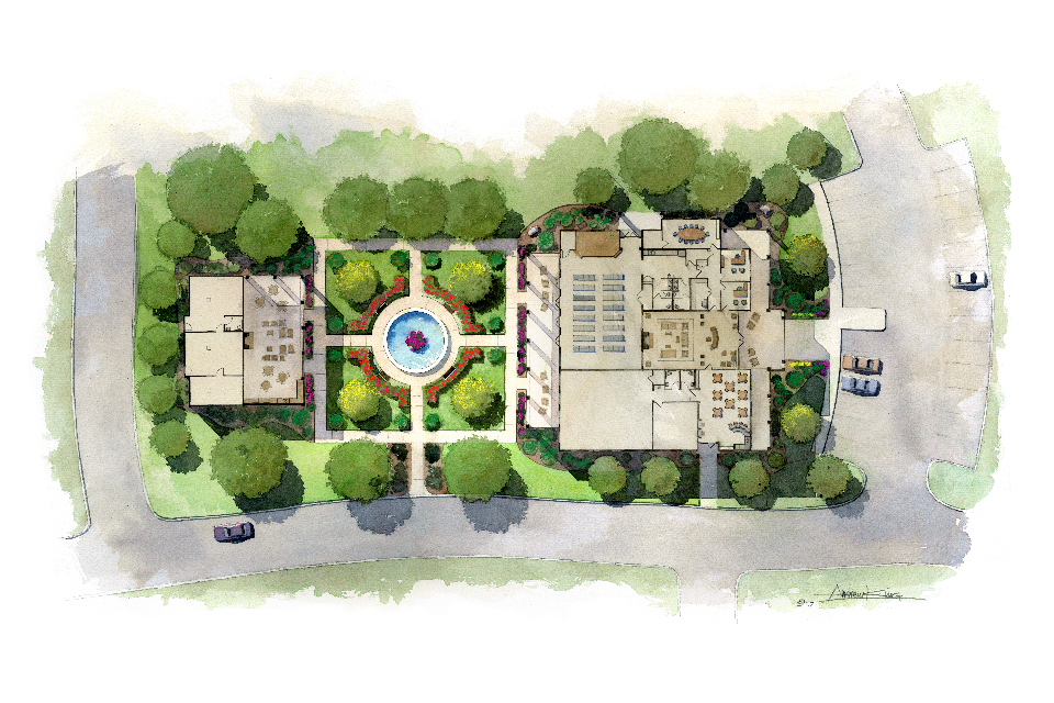 Pucciano & English - Forsyth Senior Housing Clubhouse floor plans.png