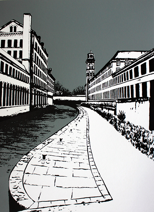 Salts Mill by the Canal II