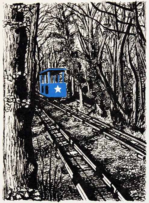 Shipley Glen Tramway Blue