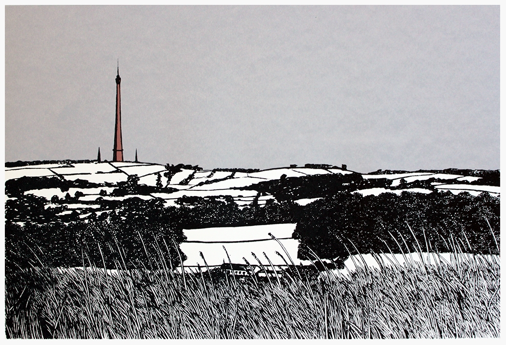 Emley Moor From Castle Hill