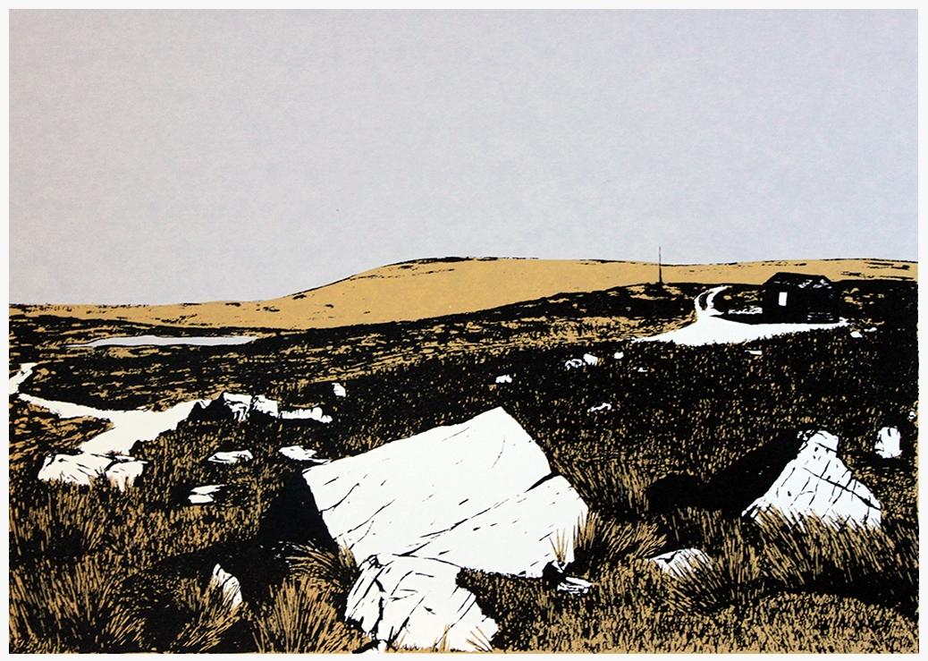 Hut on Burley Moor