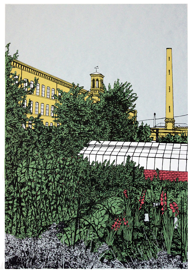 Down the Allotment (Saltaire)