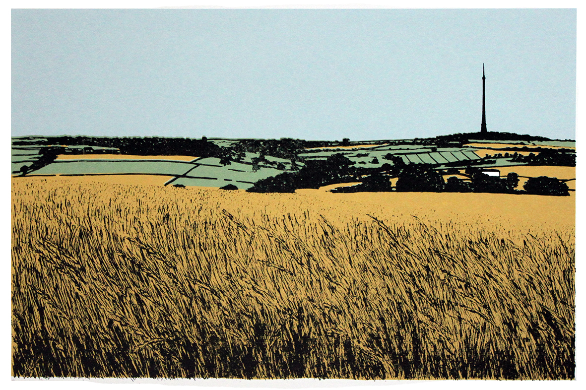 View to Emley Moor Mast