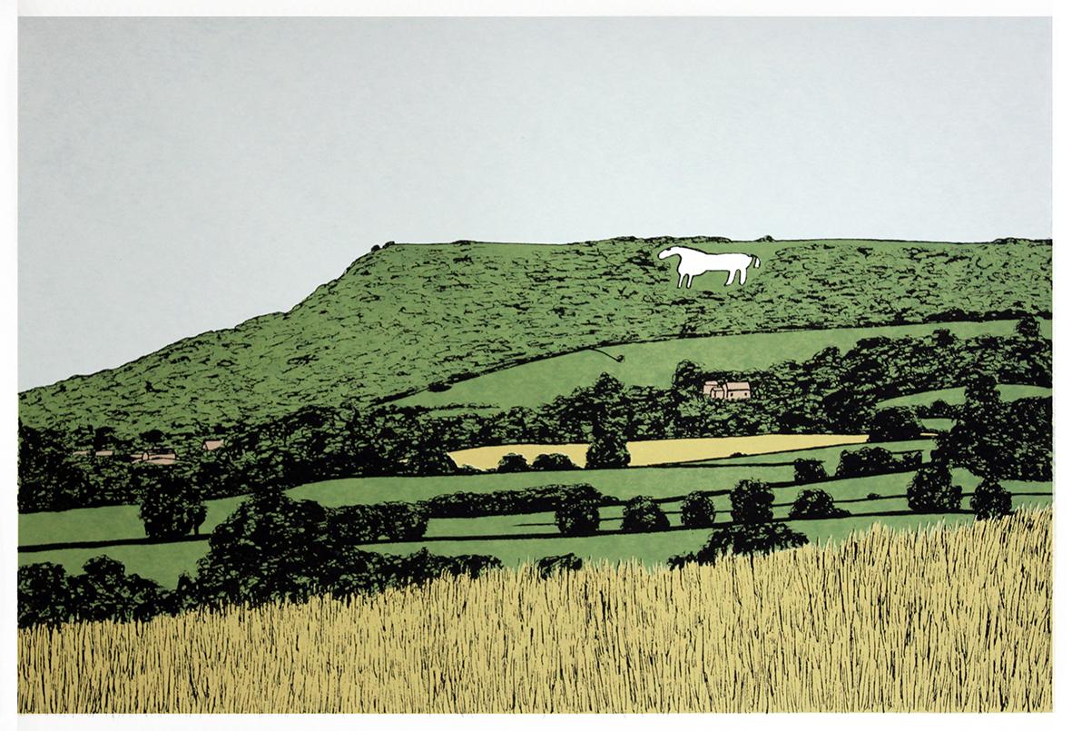 The Kilburn White Horse