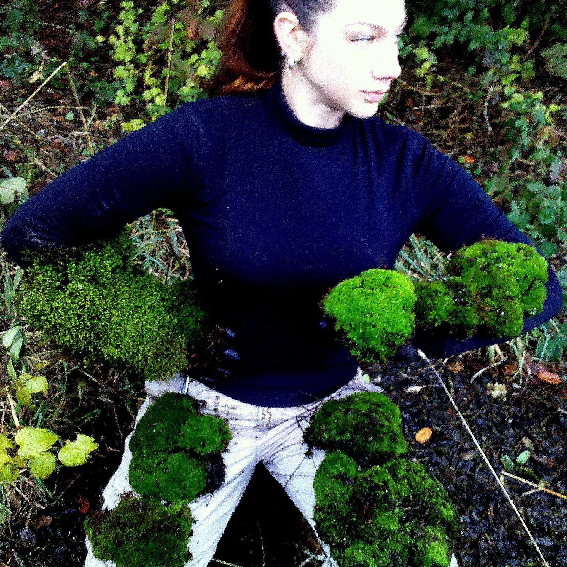 Karlee playing Moss Warrior