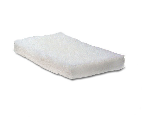 """Window safe scrubbing pad. Attach to """"doodlebug"""" shown."""