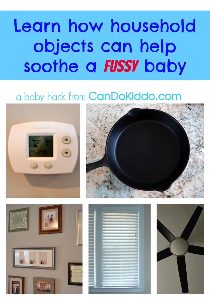 how to soothe a fussy baby newborn