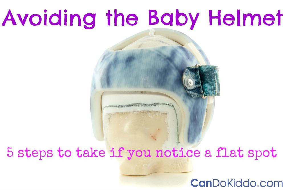 avoiding baby helmet plagiocephaly flat head