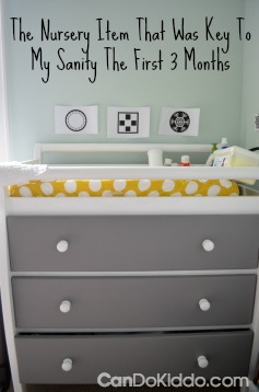 The nursery essential you won't find on any other list.  CanDo Kiddo