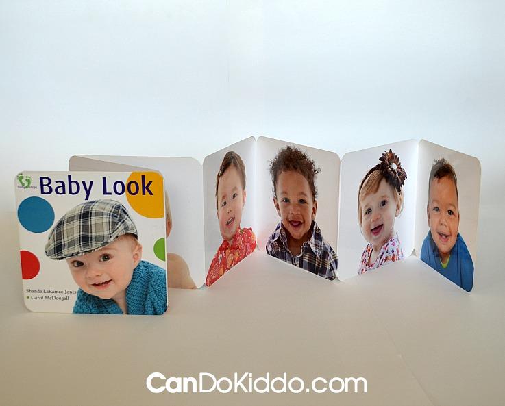 How Accordion-style baby books help promote development. CanDo Kiddo