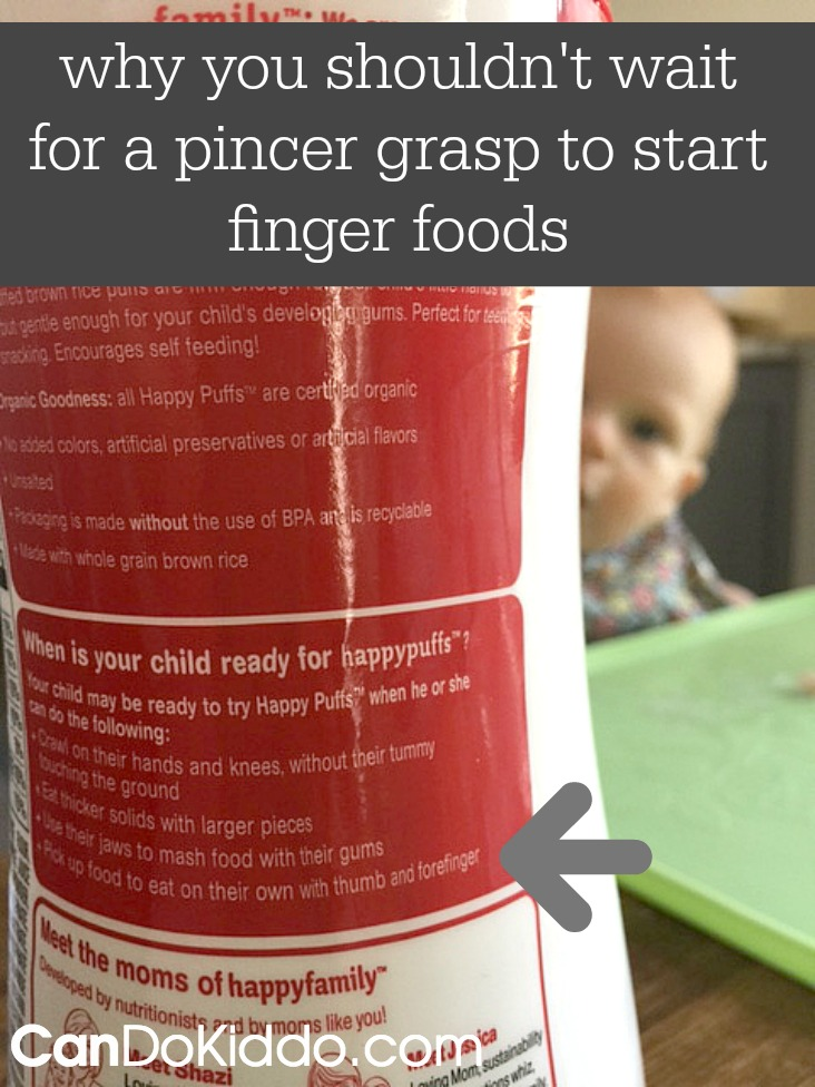 a pediatric OT's guide to teaching your baby to feed himself. CanDo Kiddo
