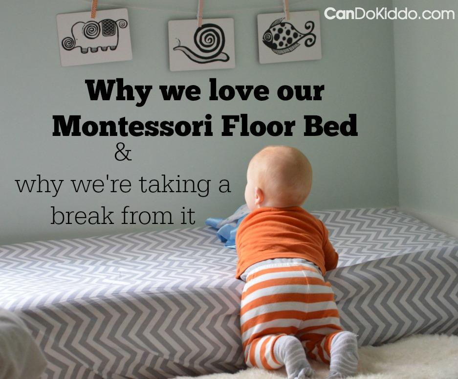 A Montessori Floor Bed and baby sleep problems. CanDo Kiddo