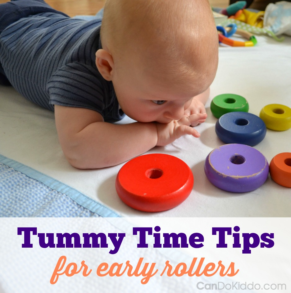 Can I still do Tummy Time once my baby rolls - CanDo Kiddo