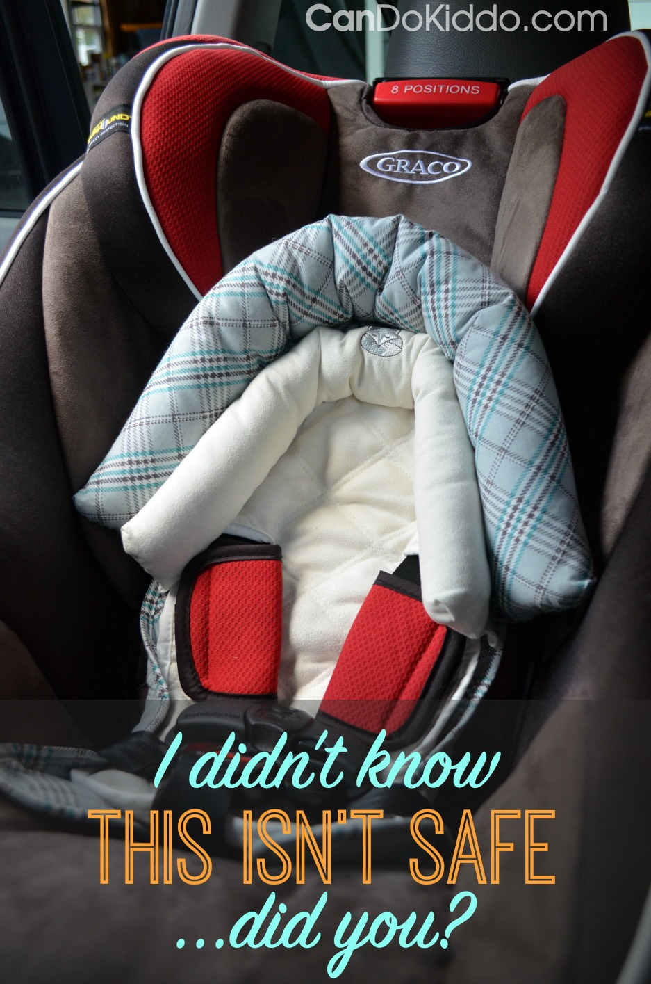 Why infant head supports - strap covers and more aren't safe. CanDo Kiddo