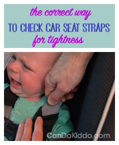 Straps too loose and 9 other common car seat mistakes. CanDo Kiddo
