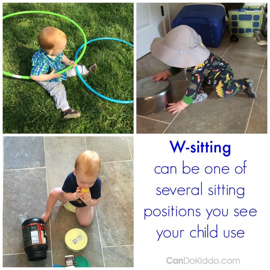 Is W-Sitting bad for child development. CanDo Kiddo