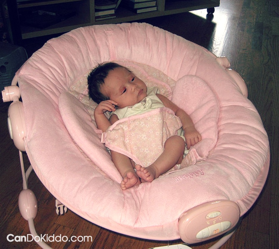 How is your baby sitting. healthy Infant positioning in baby gear. CanDo Kiddo