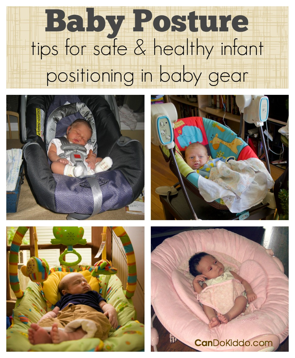 Baby Posture - safe and healthy positioning in baby gear. CanDo Kiddo