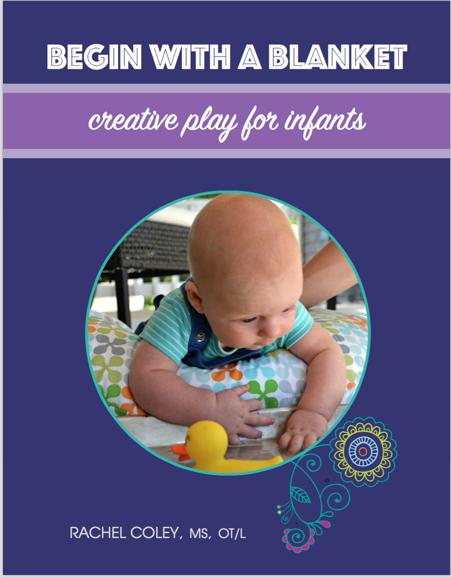 Creative play activities for infants. Tummy Time fun. CanDoKIddo.com