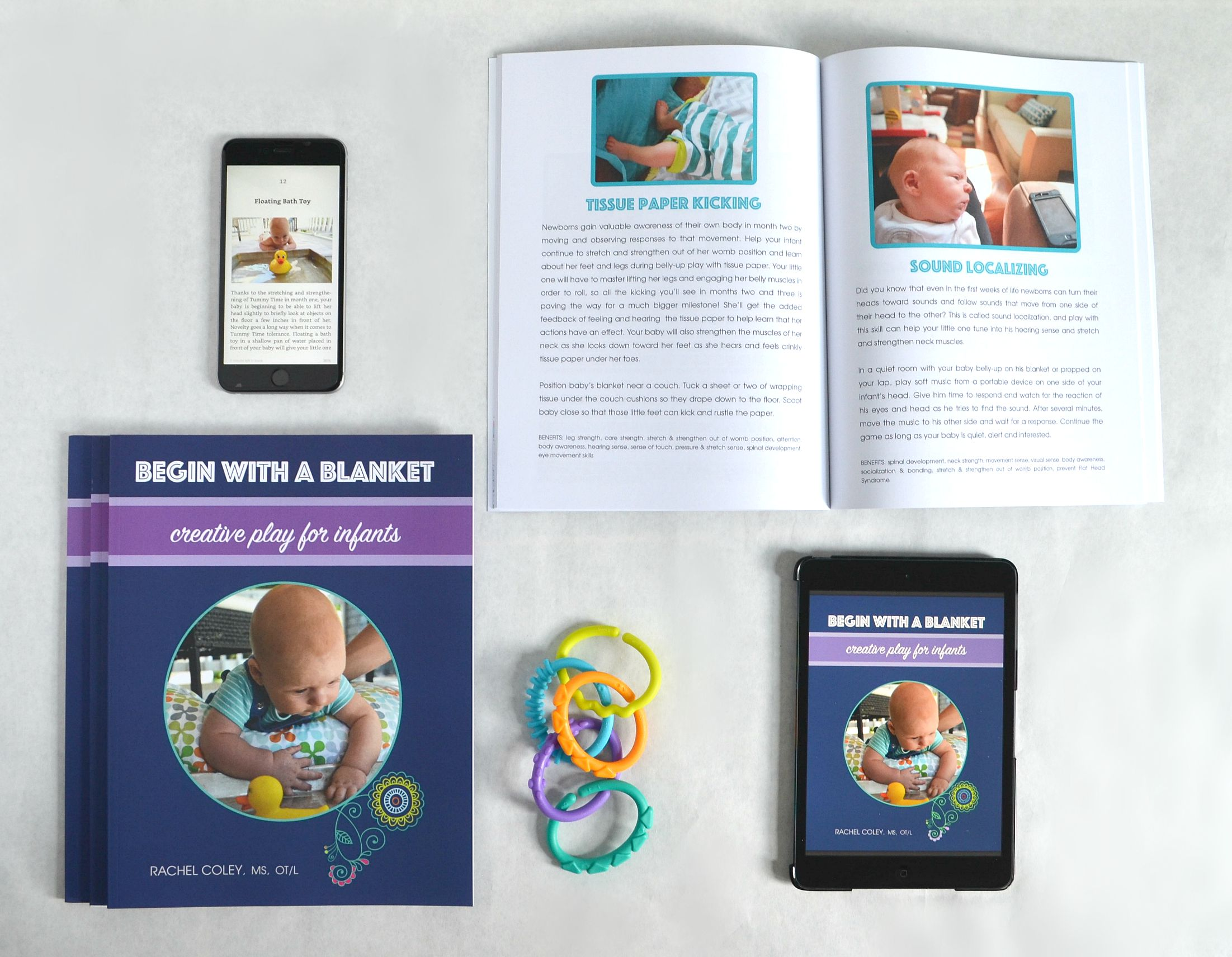Learn to play with your newborn in creative and simple ways. CanDoKiddo.com
