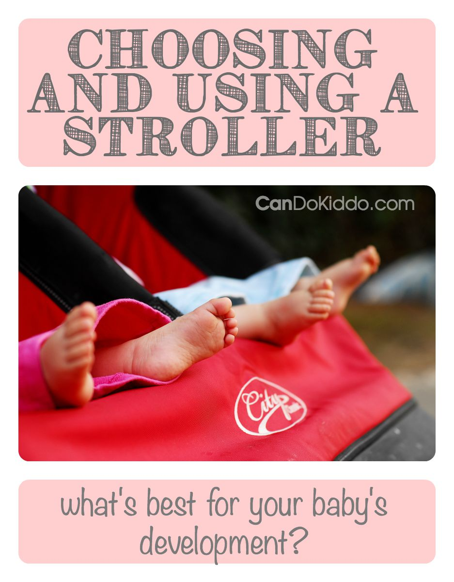 A pediatric Occupational Therapist's stroller buying guide. CanDoKiddo.com