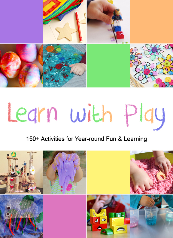 Kids activities book - hands on learning and fun. Kid Blogger Network
