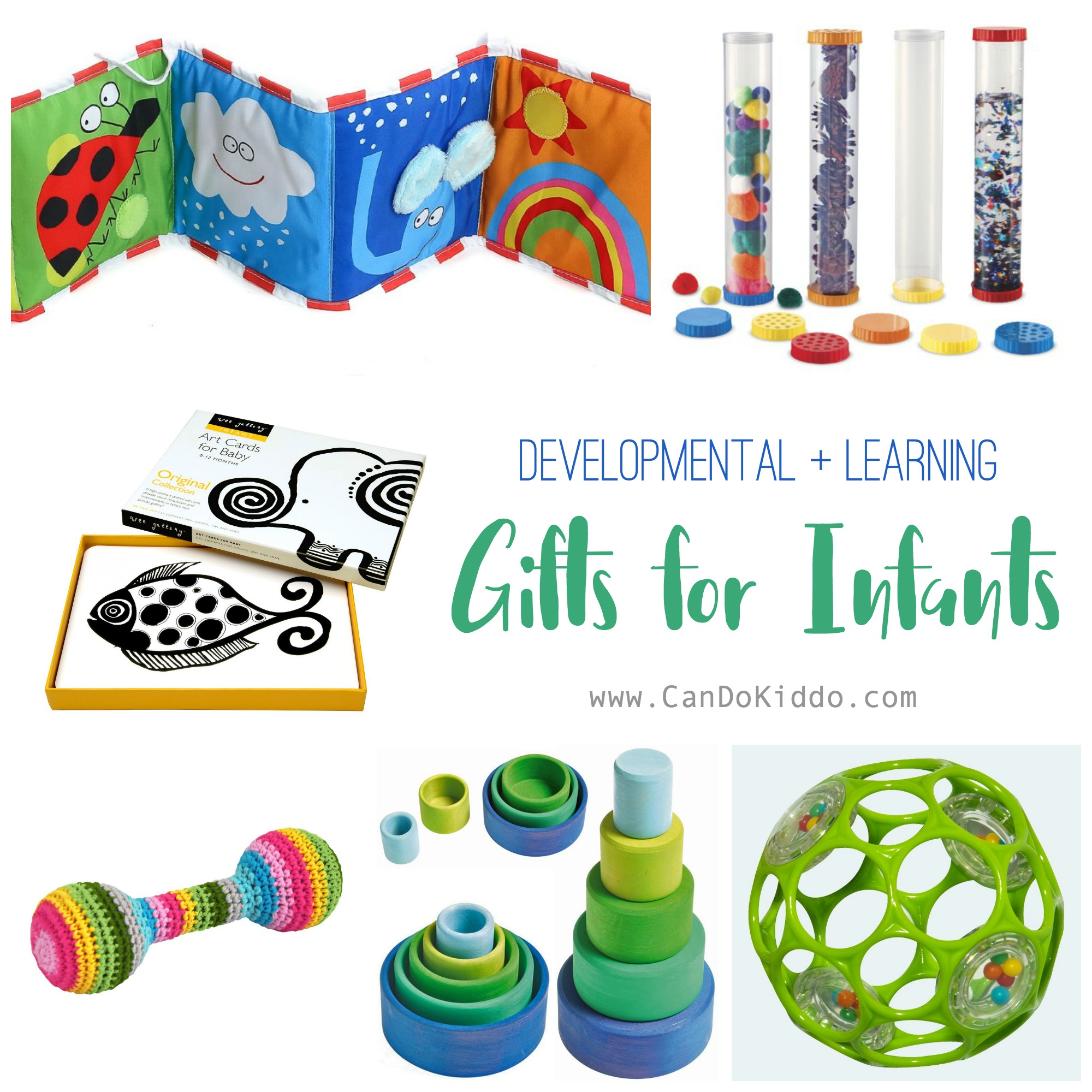Toys and gifts for babies - infants. www.CanDoKiddo.com