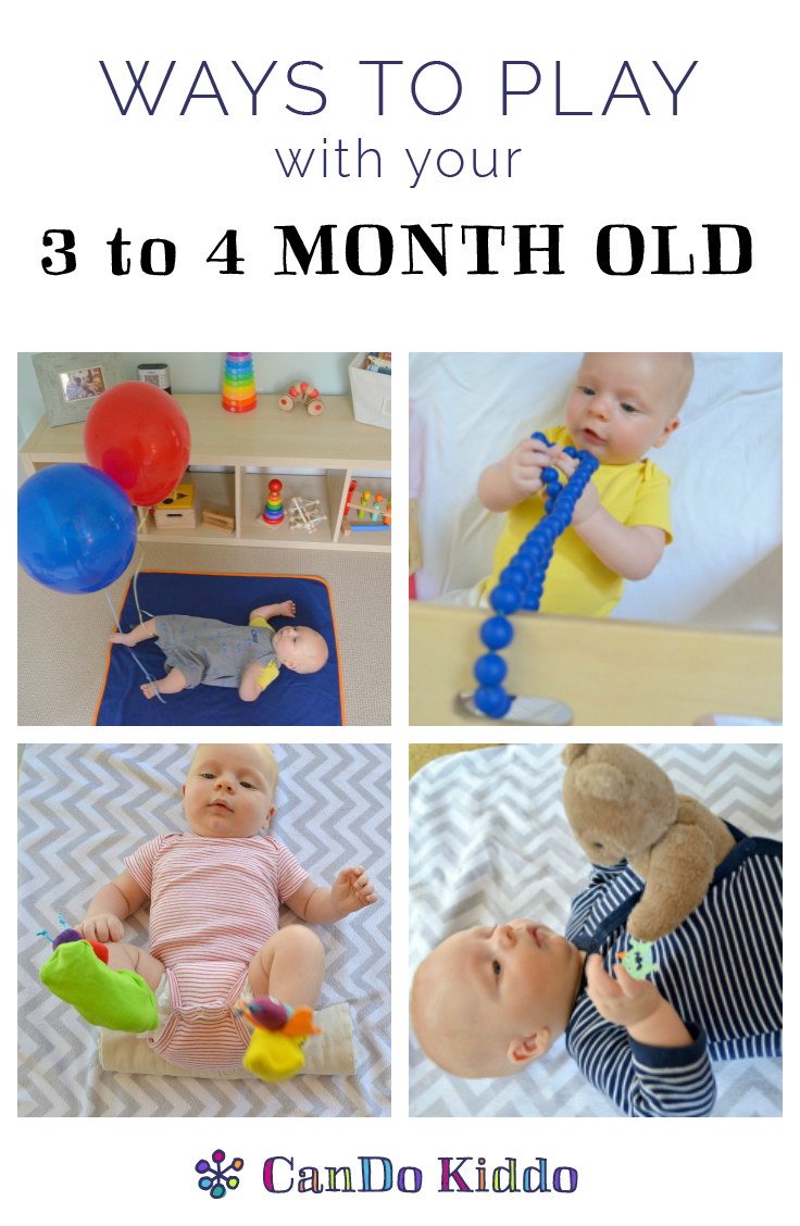 Baby Milestones Play Ideas For 3 4 Month Olds Cando Kiddo
