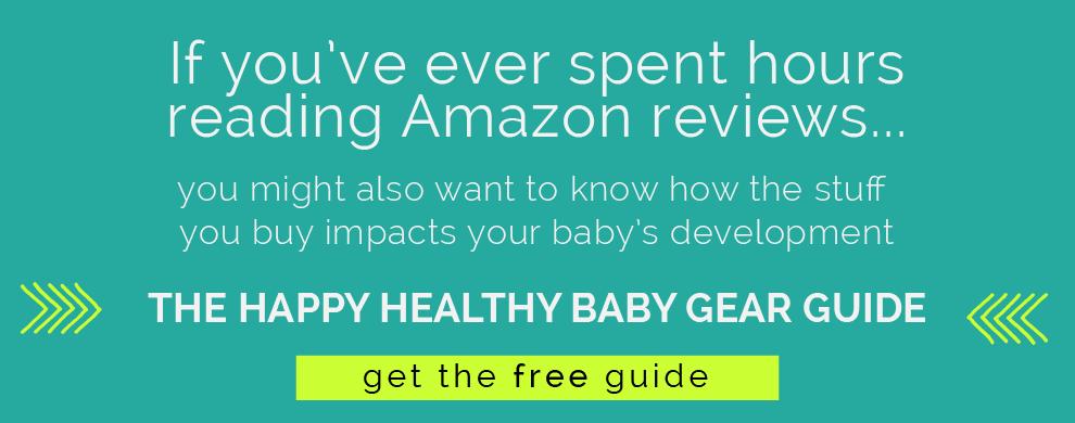 Baby Gear Guide from pediatric OT. www.CanDoKiddo.com